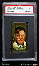 1911 T205 Christy Mathewson New York Giants (Baseball Card) PSA 3 - VG Giants