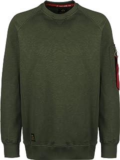 Alpha Industries Sweater Solid Crew Neck