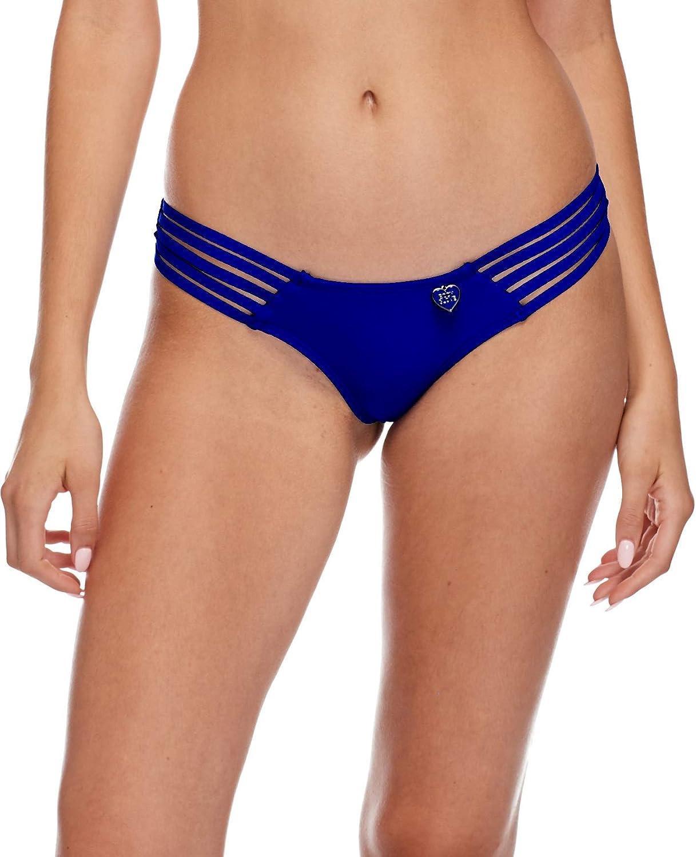 Body Glove Women's Smoothies Amaris Solid Cheeky Coverage Bikini Bottom Swimsuit