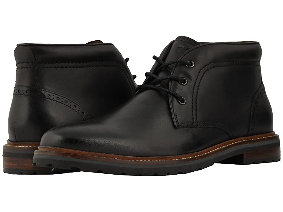 Florsheim Estabrook Chukka Boot (Black Smooth) Men