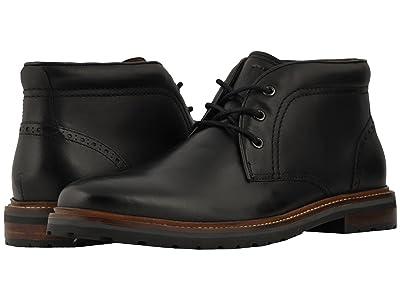 Florsheim Estabrook Chukka Boot (Black Smooth) Men