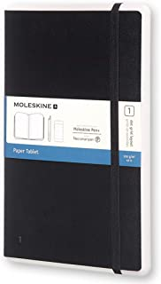 Moleskine Paper Tablet Hard Cover Smart Notebook, Dotted, Large (5