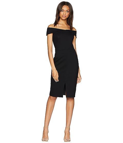 vestido del hombro fuera negro tubo Adelyn Donna del del Rae xqXffTw6I