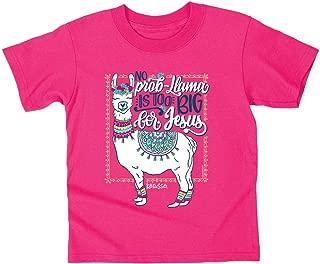Kerusso Kid's Christian T-Shirt Llama