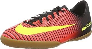 Jr. Mercurial Vapor XI IC Indoor Soccer Shoe (Black, Green, Blue)