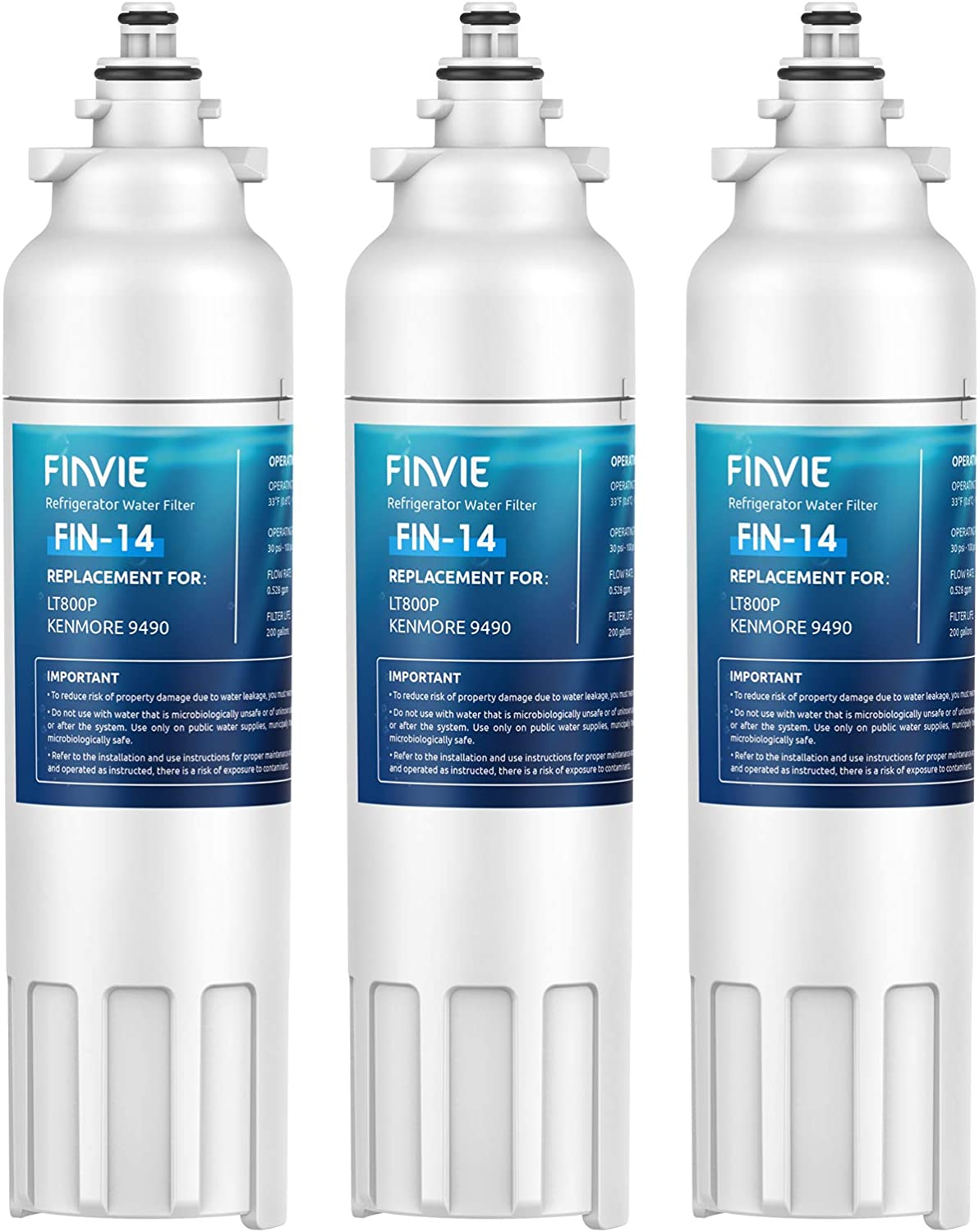 FINVIE LT800P Spasm price Many popular brands Refrigerator Water Compatible w Filter Replacement