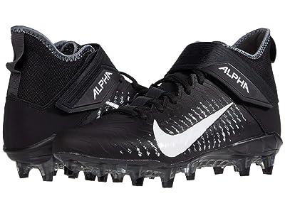 Nike Alpha Menace Pro 2 Mid (Black/White/Cool Grey/Anthracite 2) Men
