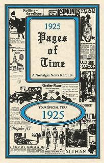 1925 Pages Of Time KardLet (PT1925)