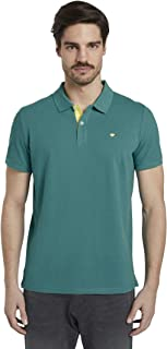 Tom Tailor Men's Basic With Contrast Polo
