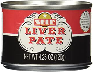 SELLS Pate Liver, 4.25 OZ 6 Pack