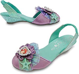 Disney Store Deluxe Ariel The Little Mermaid Slingback Shoes Heels Size 7 - 8 by Disney