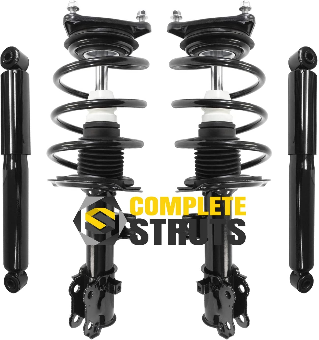 COMPLETESTRUTS - Front Max 79% OFF Complete Ranking TOP5 Strut Assemblies with Coil Sprin