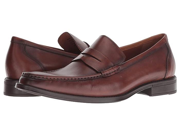 Florsheim  Amelio Penny Loafer (Cognac Smooth) Mens Shoes