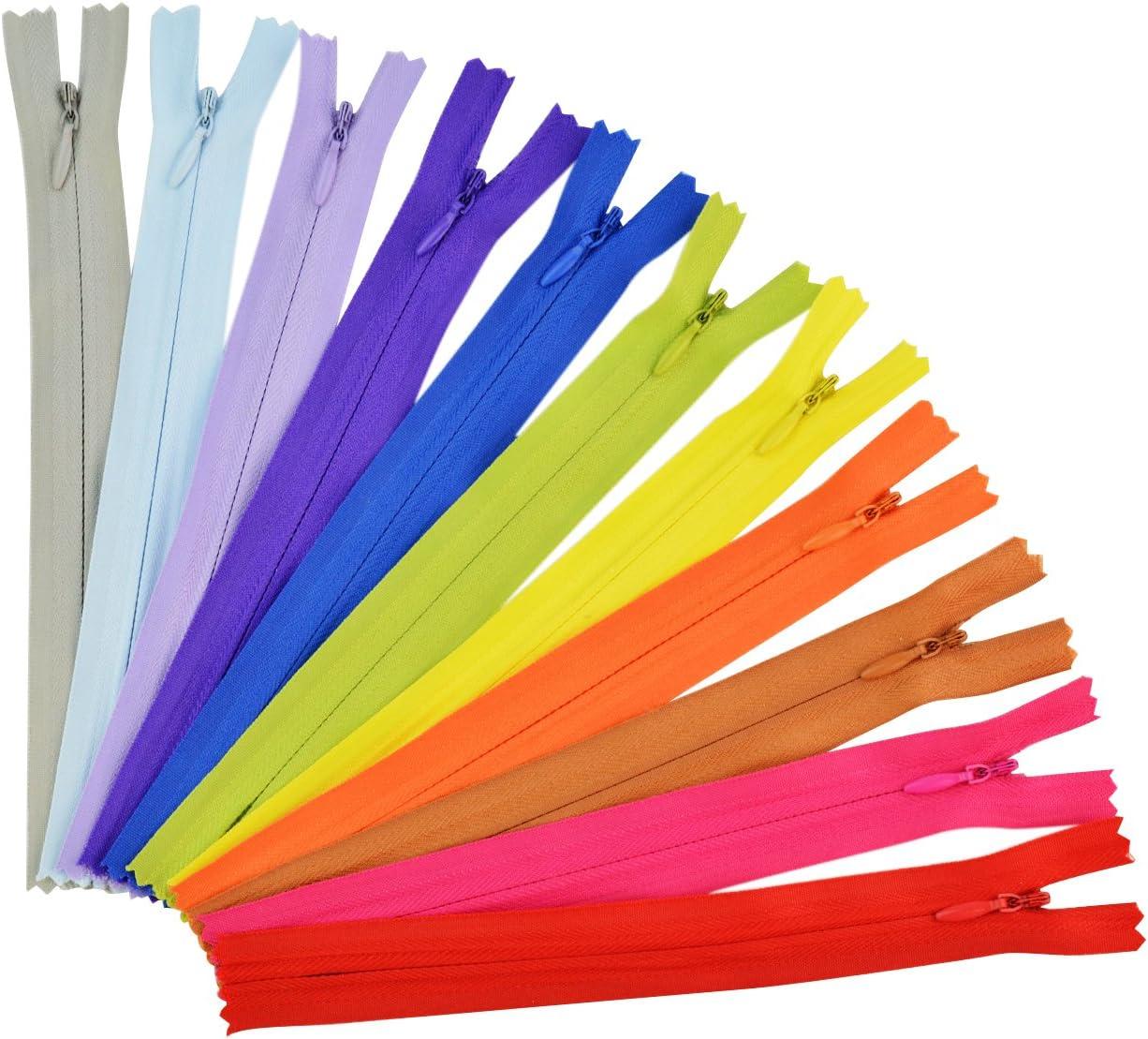 Jmkcoz 50pcs 7.8 Inch Sewing Invisible Max 41% OFF Nylon Finally popular brand Zippers Ta