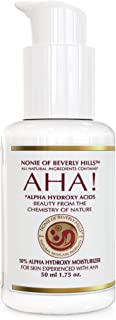 Nonie 10% Alpha Hydroxy Acid Moisturizer - Anti Wrinkle & Anti Aging Treatment - Dead Cell Exfoliater & Renewer 30% - 1.75 oz