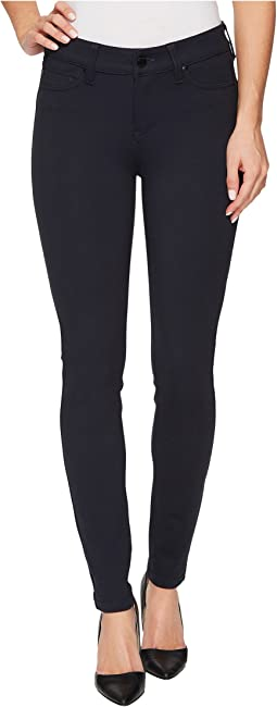 Liverpool - Madonna Five-Pocket Leggings in Silky Soft Ponte Knit in Dark Night