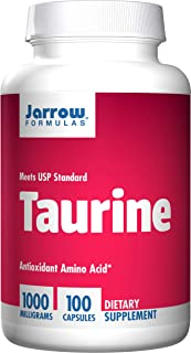 Jarrow Formulas Taurine, Brain & Memory Support, 1000 mg, 100 Caps