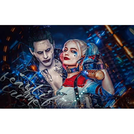 G069 Suicide Squad Hot Superheroes Movie Harley Quinn Art Poster