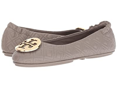 Tory Burch Quilted Minnie (Dust Storm/Gold) Women