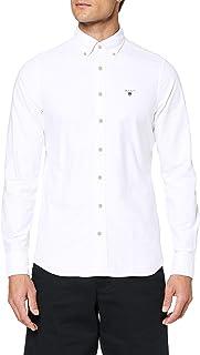 GANT THE OXFORD SHIRT SLIM BD heren hemd met button-down-kraag