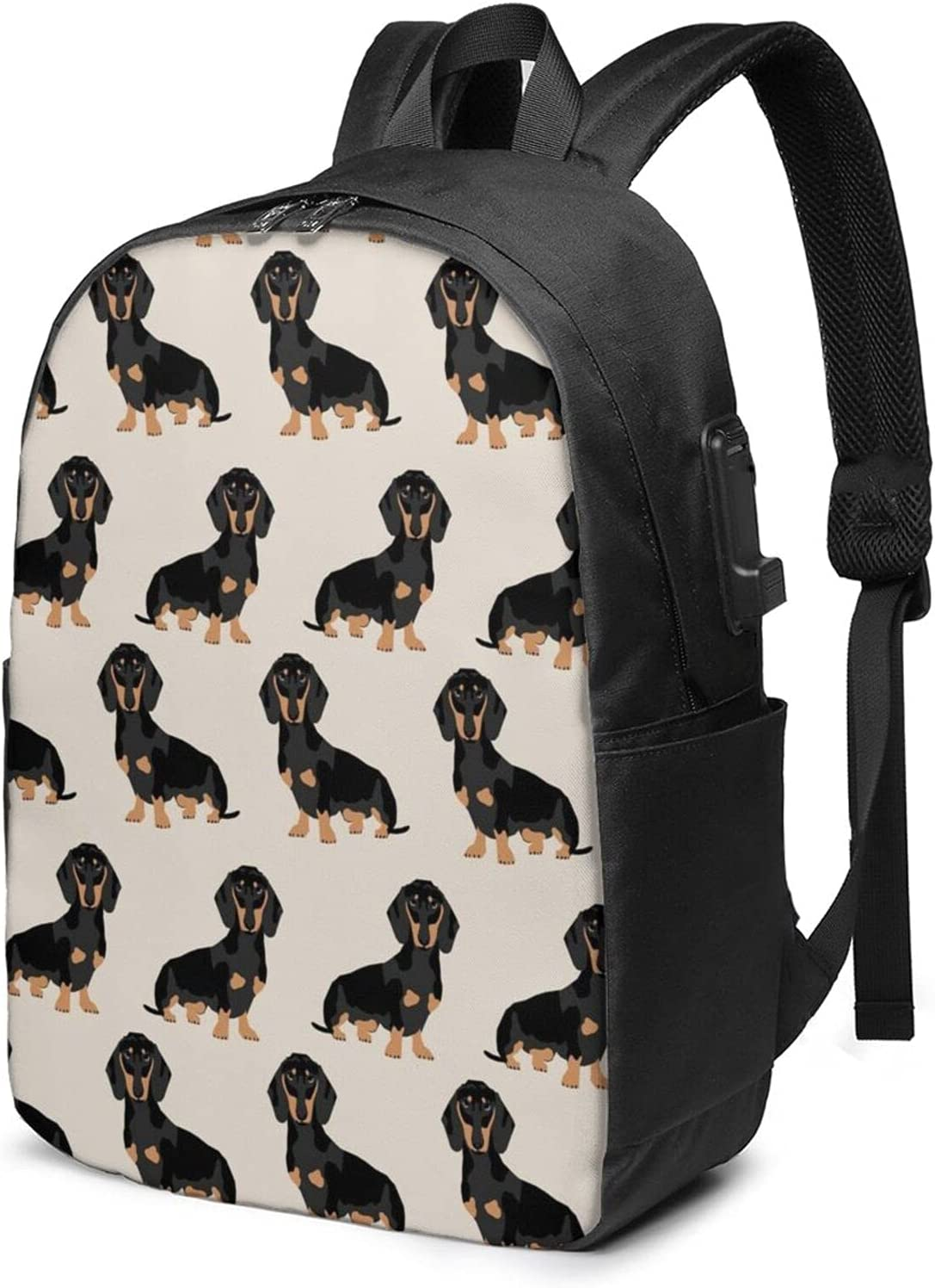 Wiener Dog Pet Animal Laptop Daypack Las Vegas Mall Backpack with For low-pricing Adult