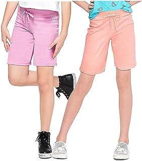 Justice Girls Active Knit Bermuda Shorts