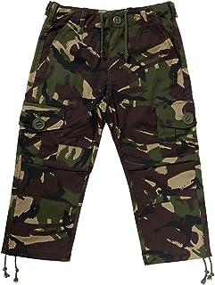 Kids Army camuflaje Pantalones de combate–Edad 3–14años