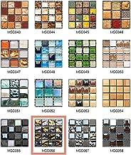 50 Piezas de Pegatinas de Azulejos Estilo Retro Mosaico Adhesivo Pegatinas Autoadhesivas Para Azulejos DIY Baño Cocina Peg...