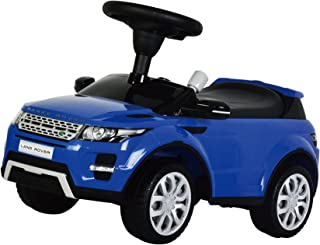 KIDS PREFERRED Licensed to Ride-On Land Rover Range Rover Evoque - Riding Toy for Toddlers with Sounds - Blue