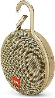 JBL CLIP 3 Portable Bluetooth Speaker, Sand