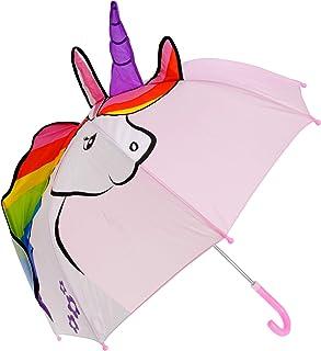 Drizzles Childrens/Kids Unicorn Shaped Umbrella