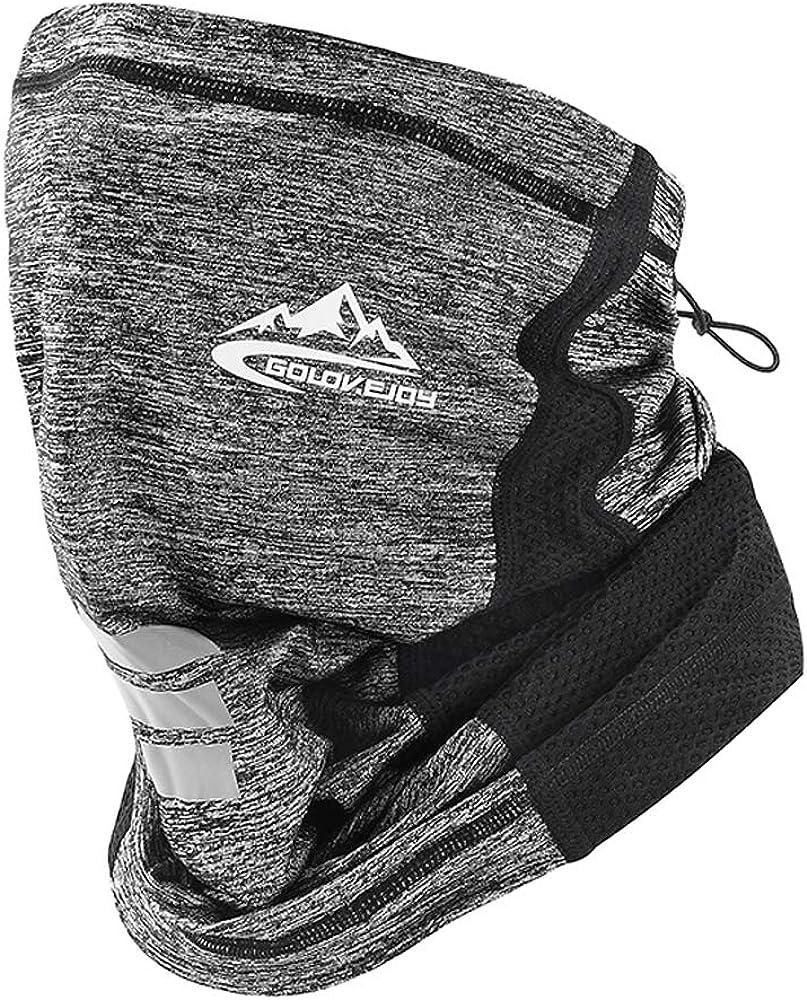 ROSAUI Neck Gaiter Sports Mask for Men Women Reusable Washable Breathable Face Covering Balaclava Bandana Scarf