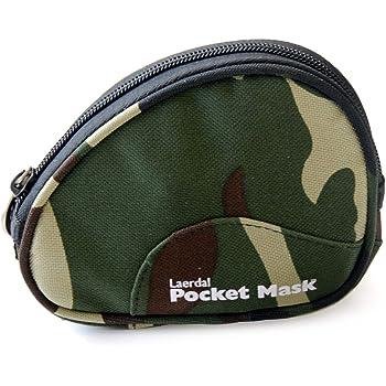 ポケットマスク ソフトポーチ(迷彩) 82004205 人工呼吸補助具