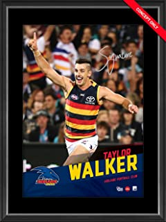 Sport Entertainment Products Taylor Walker Signed Vertiramic