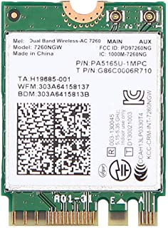 بطاقة واي فاي ثنائي النطاق 867 ميغابايت بالثانية لجهاز لينوفو ثينك باد X1 كاربون 2 وX240 X240S متوافقة 04W3806 04W3830 04W...
