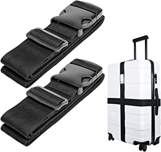 Luxebell Luggage Straps Suitcase Belt Travel Accessories, 1.96 in W x 6.56 ft L