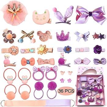 10//12 pcs//set Kids Hair Clips Toddlers Hairpins Cute Headwear Hair Accessorie JE