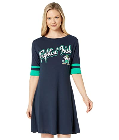 Champion College Notre Dame Fighting Irish Field Day Dress (Gear Navy/Kelly Green) Women