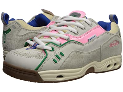 Globe CT-IV Classic (Silver Birch Hairy Suede/Pink Nubuck/Gum) Skate Shoes