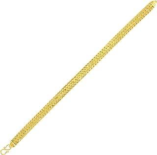 Senco Gold & Diamonds The Vintage Charm Gold Wristlet