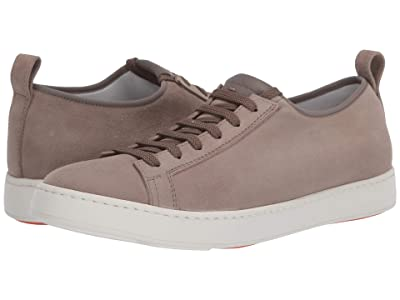 Santoni Inhabit Sneaker (Beige Suede) Men