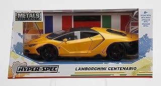 Jada Hyper Spec 1/24 Scale Officially Licensed Lamborghini Centenario Yellow Diecast Car