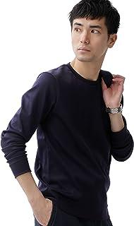 [ナノユニバース] Tシャツ FORMAl JERSEY クルーネック カットソー 長袖 メンズ