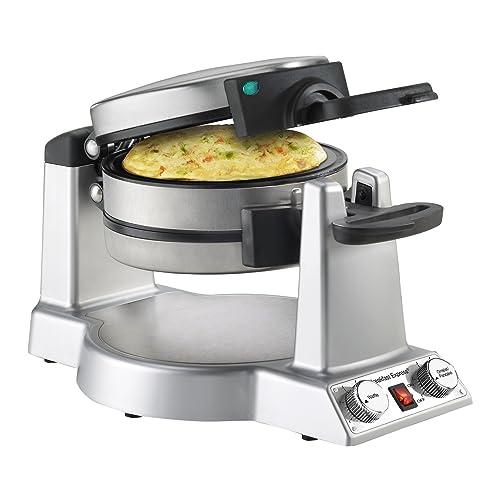 Cuisinart WAF-B50 Breakfast Express Omelet Maker Waffle Iron, Stainless Steel