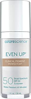 Sponsored Ad - Colorescience Even Up Clinical Pigment Perfector, Water Resistant, Mineral Facial Sunscreen & Primer, Broad...