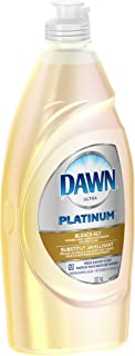 Dawn Ultra Platinum Dishwashing Liquid, Fresh Rapids Scent, Bleach Alternative, 18 Fl. Oz., 1 Bottle