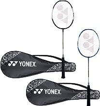 Yonex ZR 100 Light Aluminium Blend Badminton Racquet with Full Cover, Set of 2