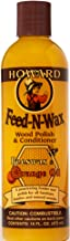 Howard Products FW0016 Wood Polish & Conditioner, 16 oz, Orange, 16 Fl Oz