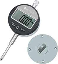Neoteck DTI Digital Dial Indicator 1''/25.4mm | Digital Probe Indicator Dial Test Gauge High Resolution: 0.0005''/0.01mm
