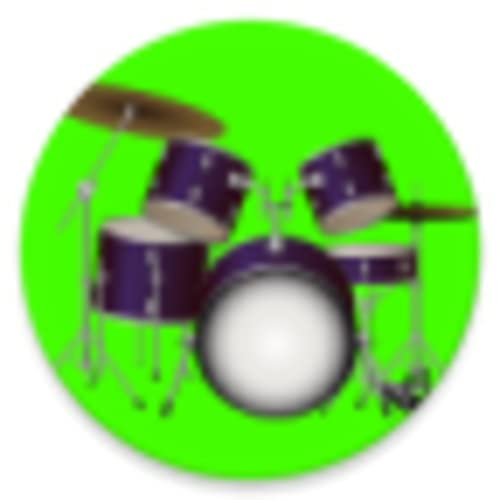 Drums Kit - Bass Drum, Floor Tom, Snare